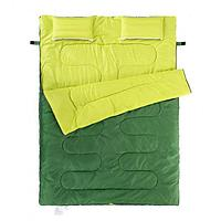Спальник двухместный Naturehike с подушкой SD15M030-J зеленый, фото 1