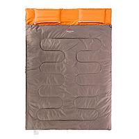 Спальник двухместный Naturehike с подушкой SD15M030-J коричневый, фото 1