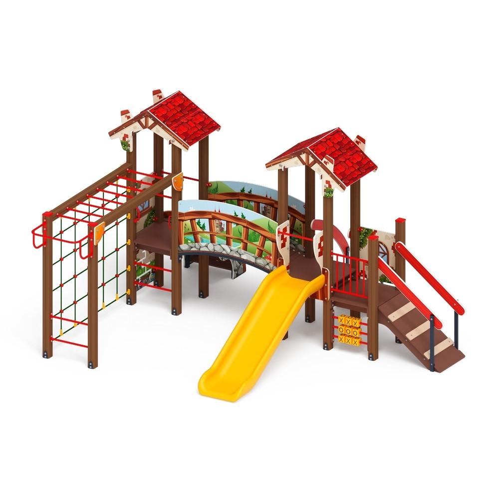 Детский игровой комплекс «В гостях у сказки» ДИК 1.05.01-06 H=900
