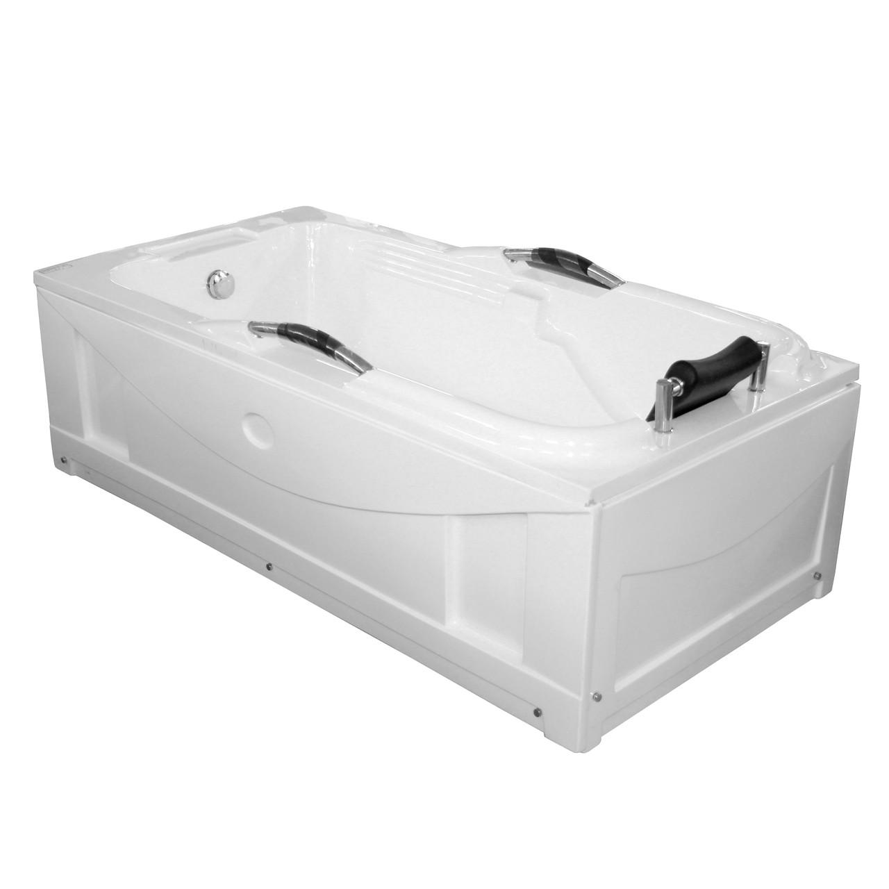 Ванна акриловая 180х90 прямая XMA212B в комплекте с 2-я экранами и каркасом