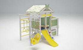 Игровой комплекс Савушка Baby 6 оливковый