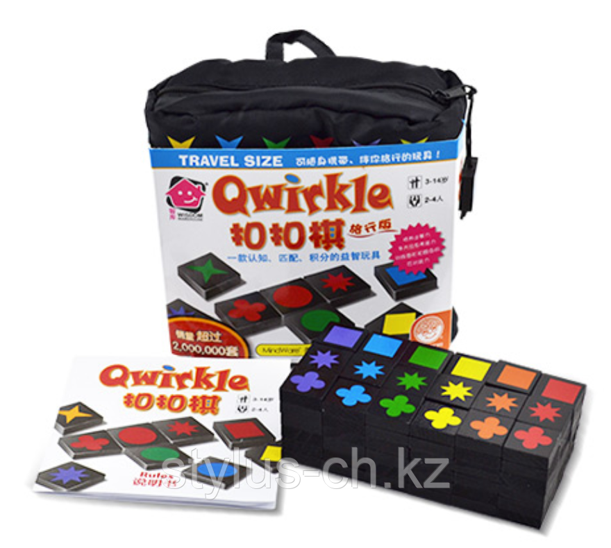 Настольная игра QWIRKLE дорожный набор