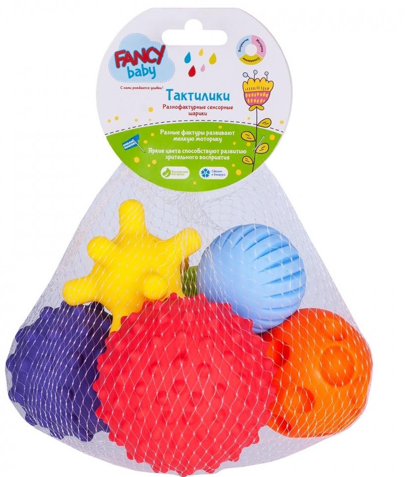 """Набор развивающих игрушек Fancy Baby """"Тактилки"""", 6шт."""