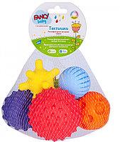 """Набор развивающих игрушек Fancy Baby """"Тактилки"""", 6шт., фото 1"""