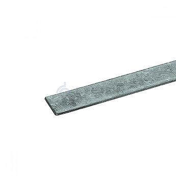 Полоса стальная оцинкованная 40х4 мм, хлысты по 6 м