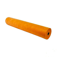 Простыня одноразовая SMS Стандарт Рулон (200 х 80 см) оранжевый Чистовье (100 шт.) №42630