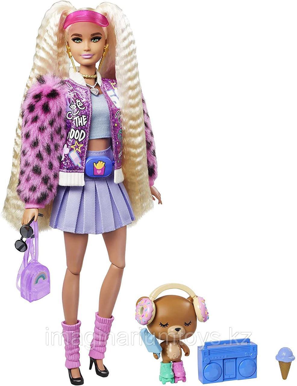 Кукла Барби Экстра №8 Блондинка с хвостиками Barbie Extra