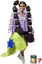 Кукла Барби Экстра №7 с хвостиками с переплетенными резинками Barbie Extra