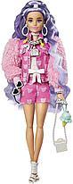 Кукла Барби Экстра №6 с сиреневыми волосами Barbie Extra