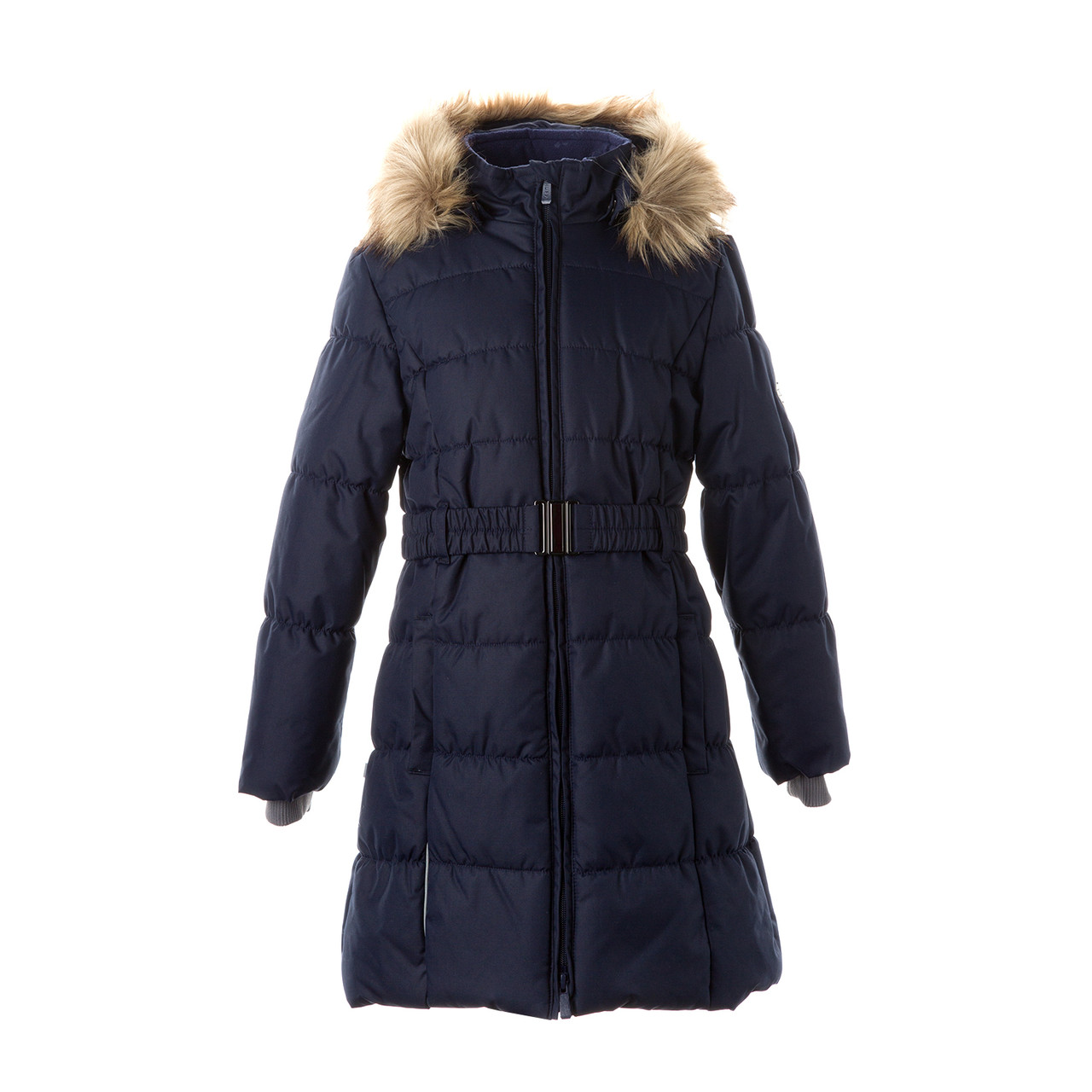 Пальто для девочек Huppa YACARANDA, тёмно-синий