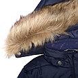 Пальто для девочек Huppa YACARANDA, тёмно-синий, фото 6