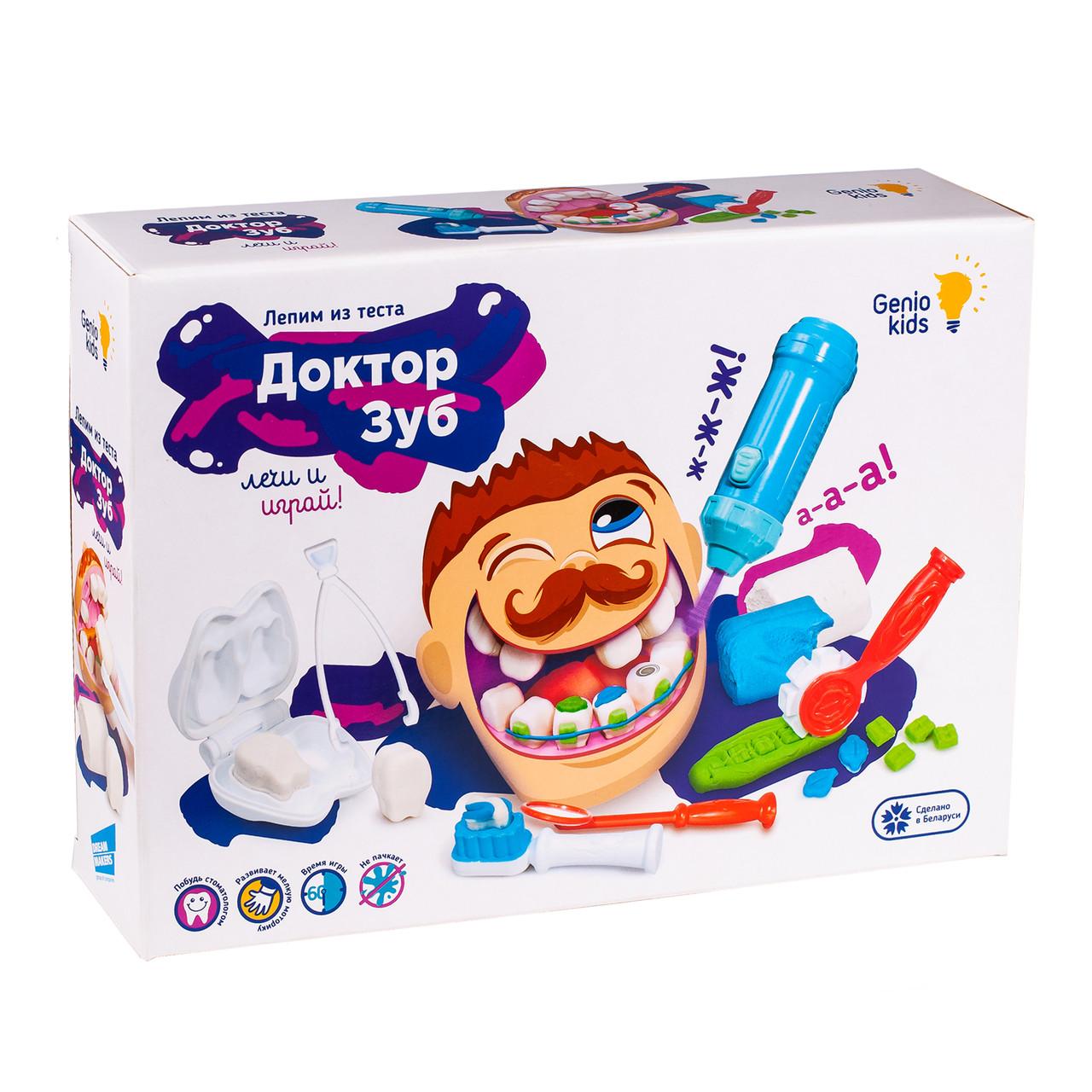 Набор для детской лепки «Доктор Зуб»