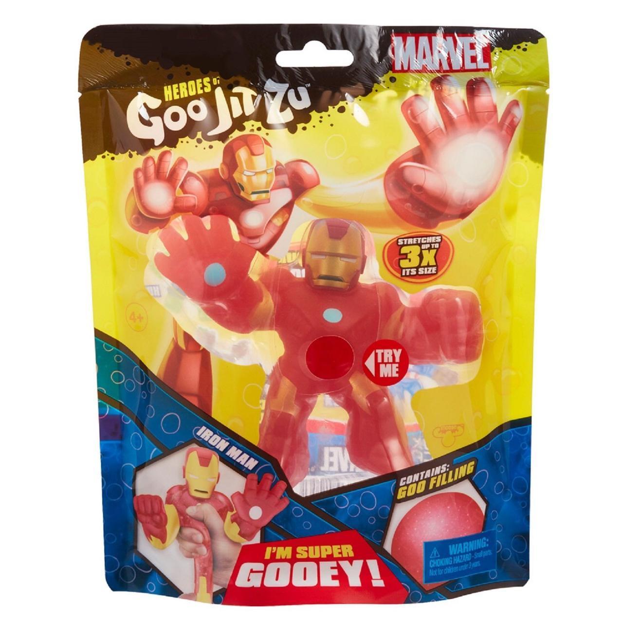 Гуджитсу Железный Человек. Тянущаяся фигурка Goojitzu Iron Man