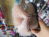 Турецкие кожаные зимние сапожки на девочку с 21 по 25 размер