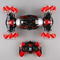 STUNT CAR: Радиоуправляемая машинка 29см, красный. 1244223