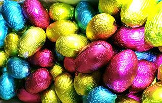 Яйца шоколадные РАЗНОЦВЕТНЫЕ 1кг
