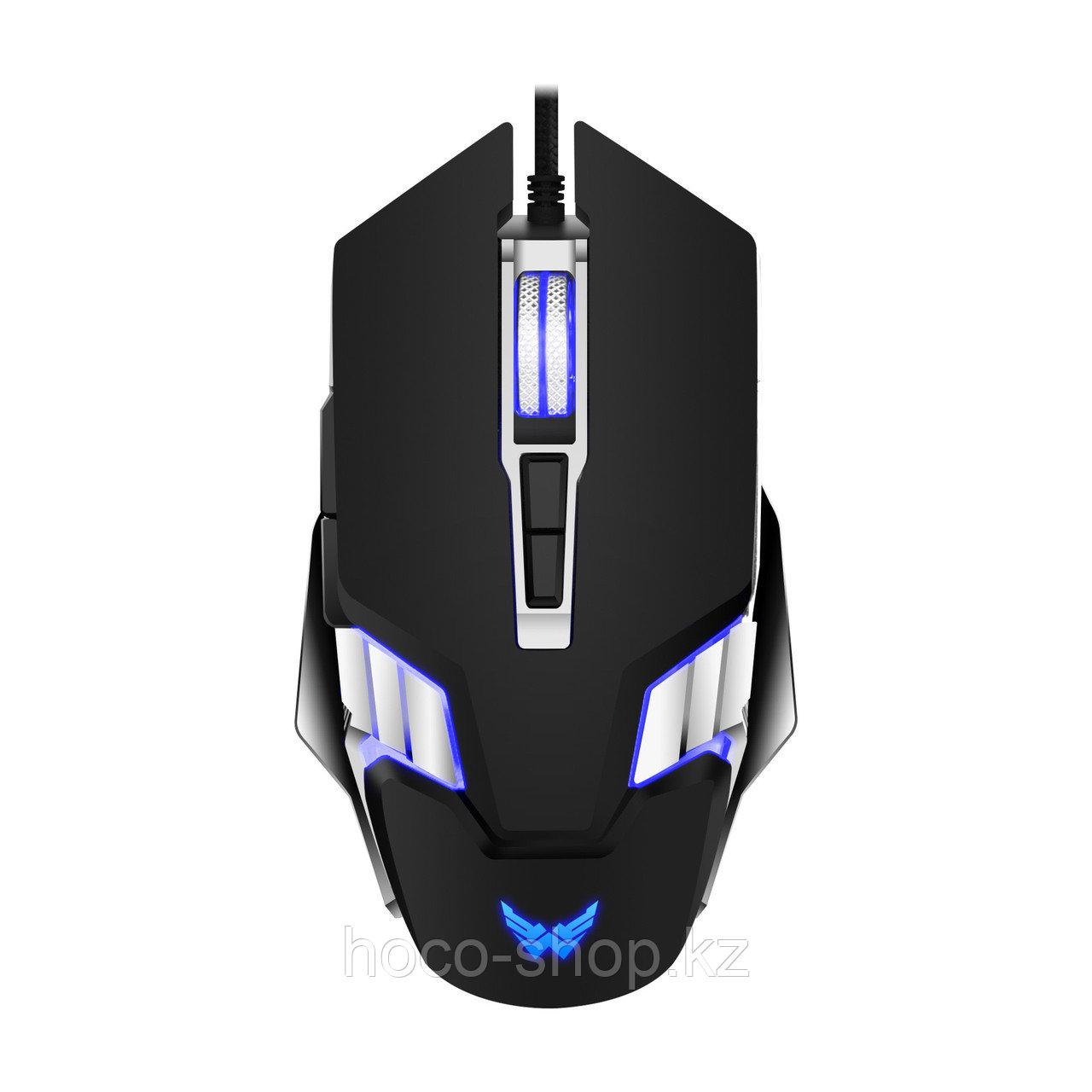 Игровая мышь Ice Armor GT-620 с поддержкой макросов, черная