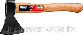 Топор 800 кованый с деревянной рукояткой 360 мм (общий вес 800 г) MIRAX