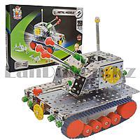 Металлический конструктор Metal Models Танк 9603 (259 деталей)