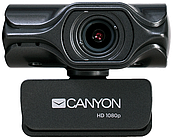 Веб-камера CANYON C6 2k Ultra full HD 3.2 Mega webcam with USB2.0 connector, built-in MIC, IC SN5262