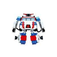 Игрушка трансформер Poli Поли 10 см + костюм астронавта 847111