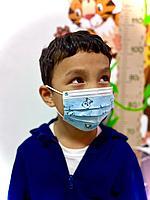 Детские маски оптом 3-х слойные