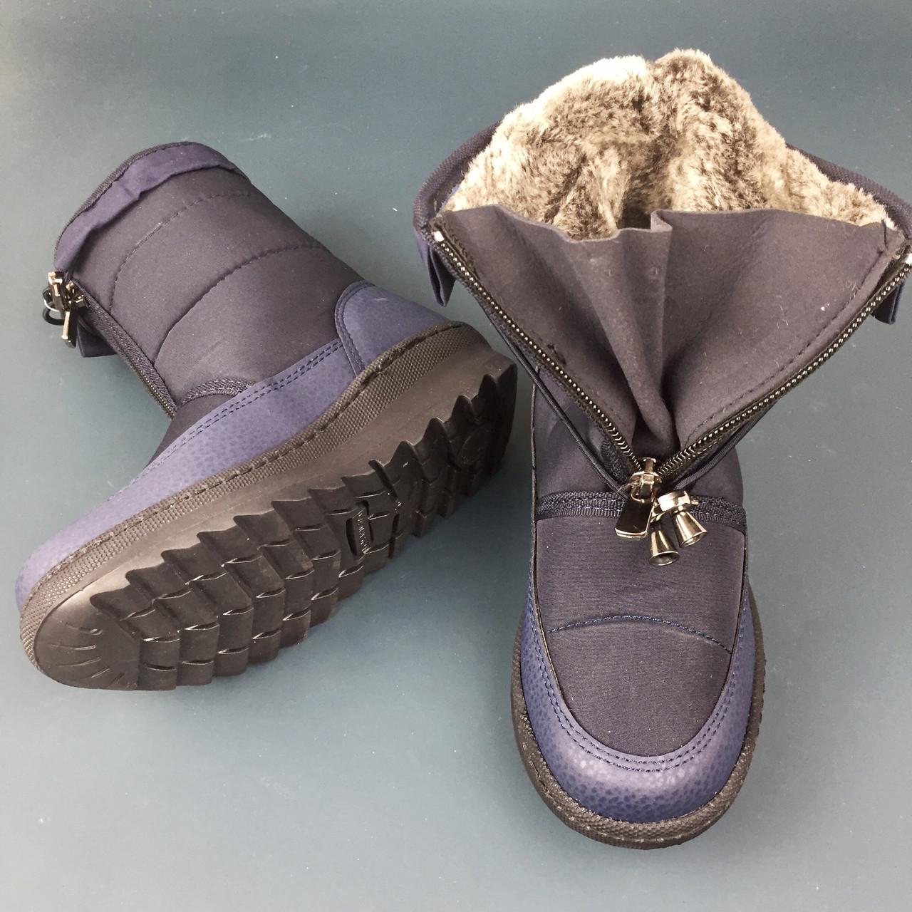 MINICAN обувь зимняя сапоги дутыши аляска детские унисекс обувь