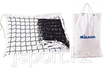 Сетка волейбольная профессиональная Mikasa, стальной трос D=4 мм