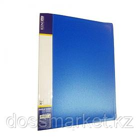 Папка с 30 файлами А4, пластик Foska