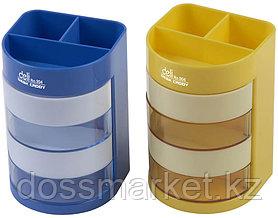Подставка для ручек, пластиковая, цвет ассорти, DELI