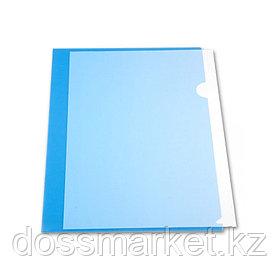 Уголок А4 пластиковый  прозрачный
