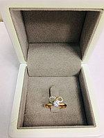 Кольцо / красное золото - 17,5 размер