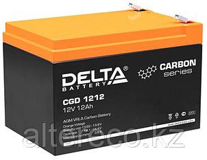 Карбоновый аккумулятор Delta CGD 1212  (12В, 12Ач), фото 2