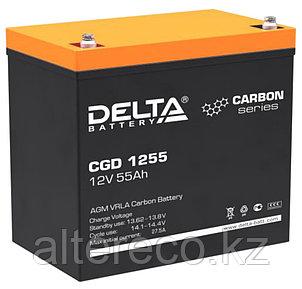 Карбоновый аккумулятор Delta CGD 1255 (12В, 55Ач), фото 2
