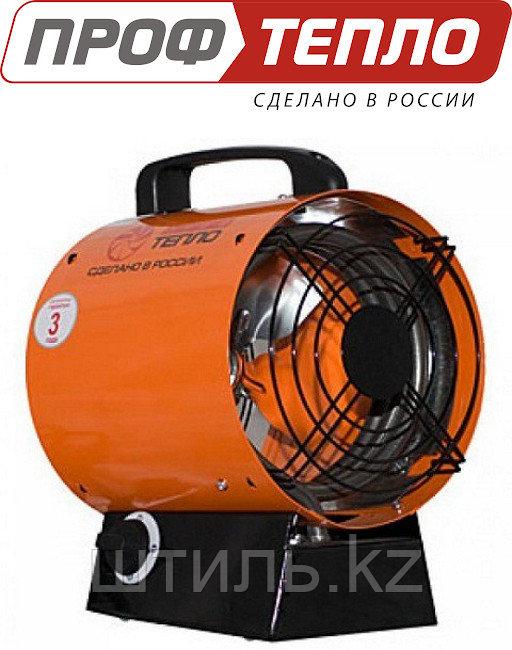 Электрическая тепловая пушка 6 кВт ТТ-6 тепловентилятор