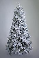 Комнатная елка Барокко заснеженная премиум класса  2.4