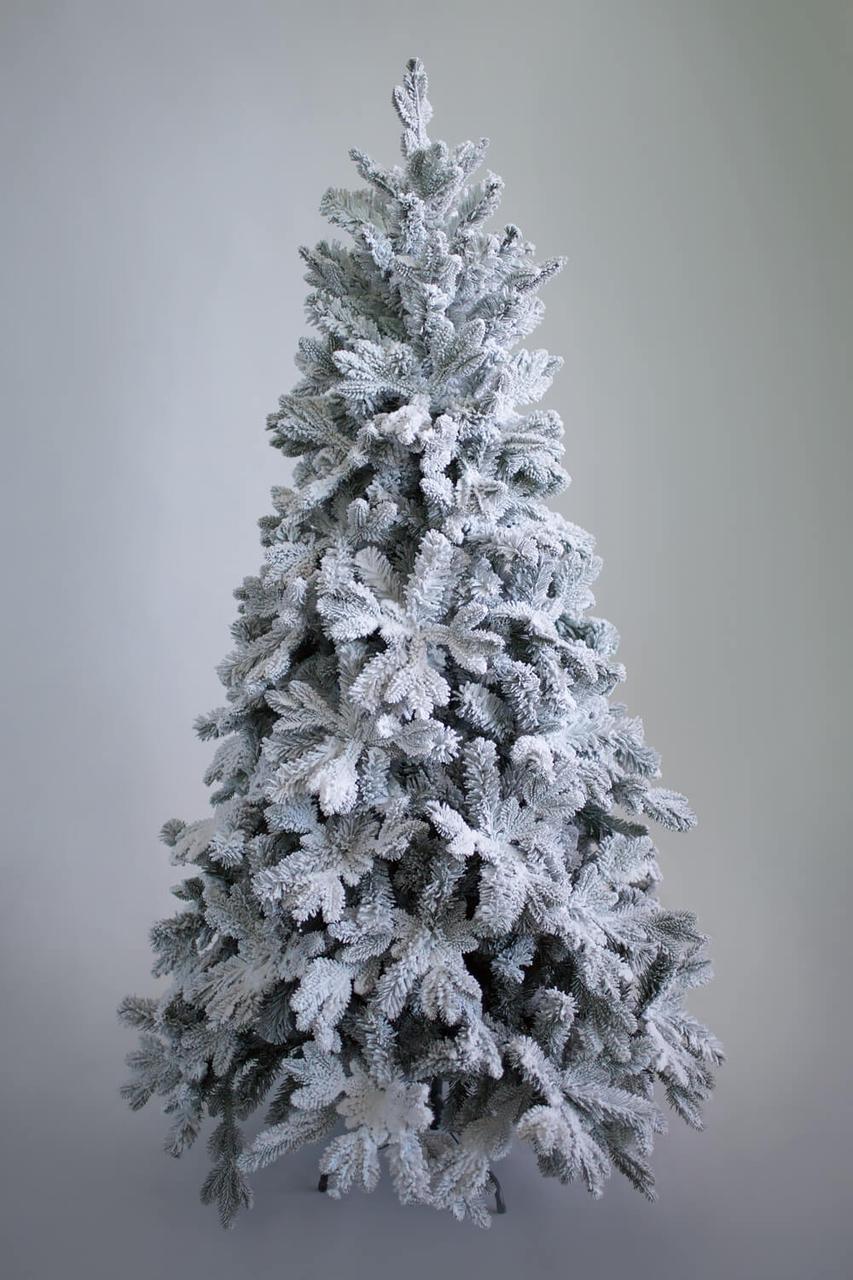 Комнатная елка Барокко заснеженная премиум класса 1,8 м