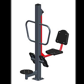 Тренажер уличный «Жим ногами + твистер СТ 022-01»