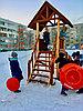 Зимняя горка Савушка Зима 5, фото 10