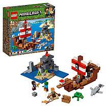 LEGO: Приключения на пиратском корабле Minecraft 21152