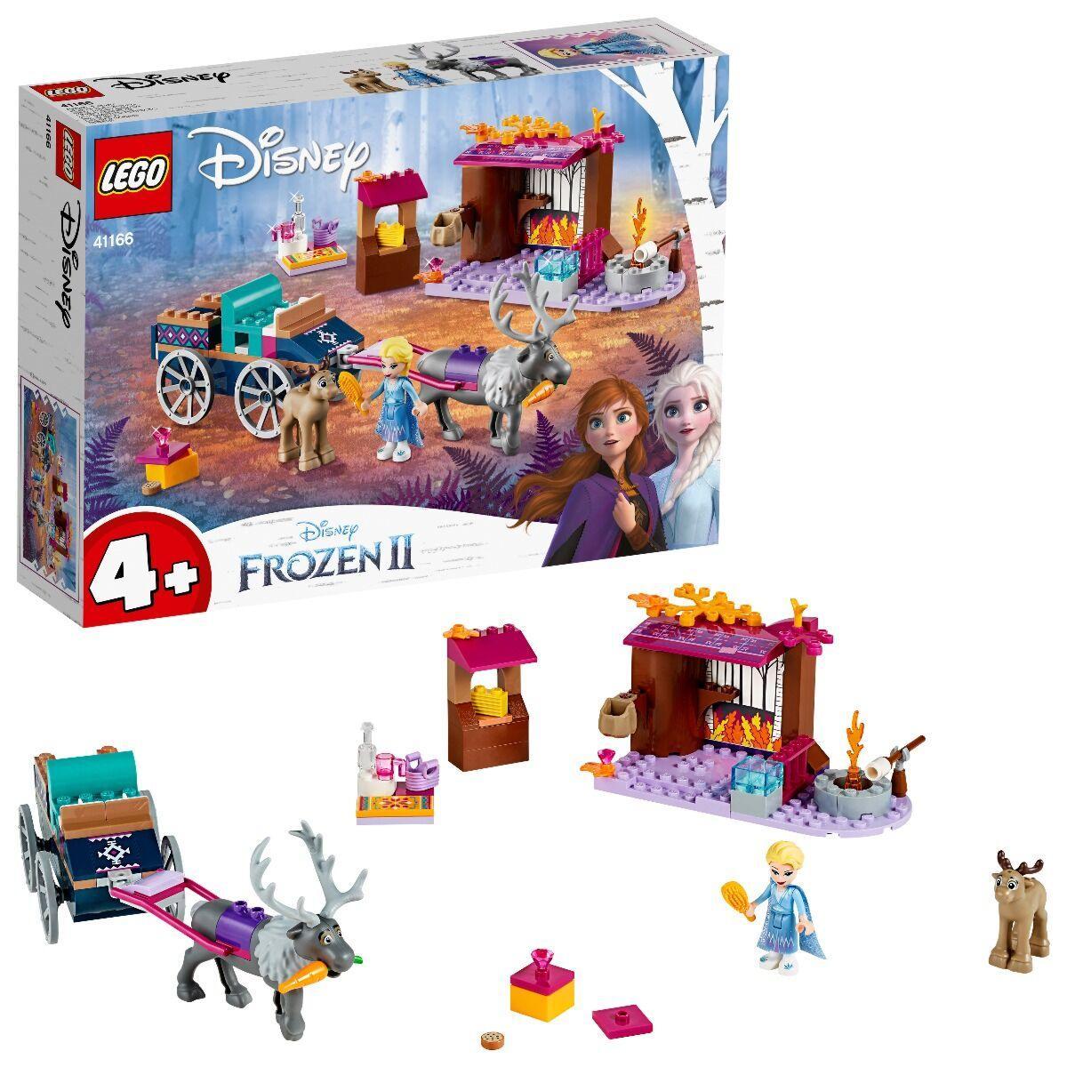 LEGO: Дорожные приключения Эльзы Disney Princess 41166