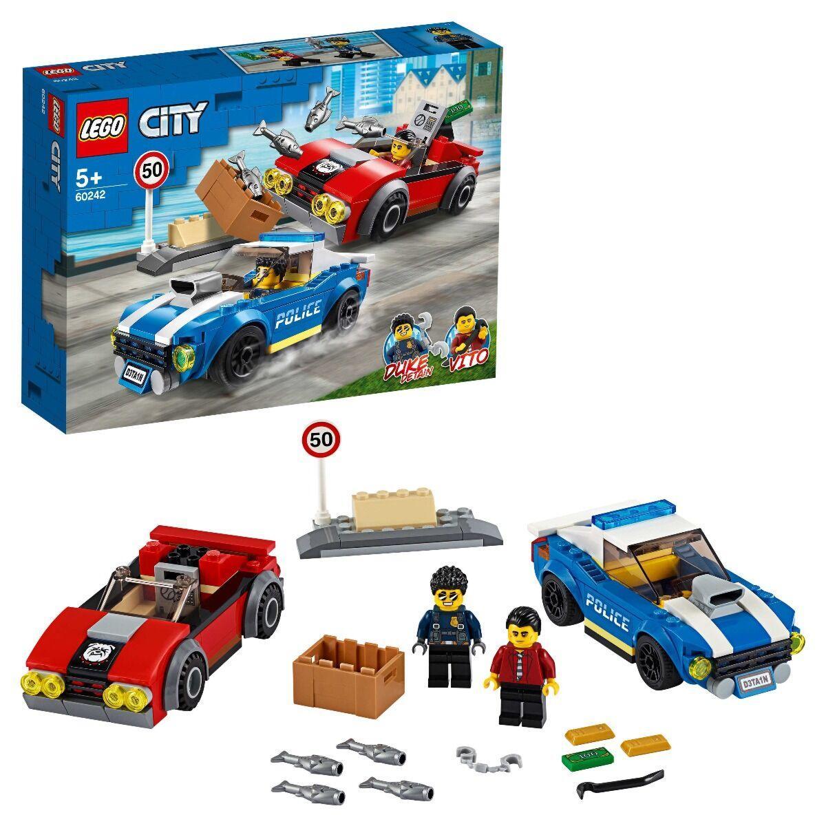 LEGO: Арест на шоссе CITY 60242