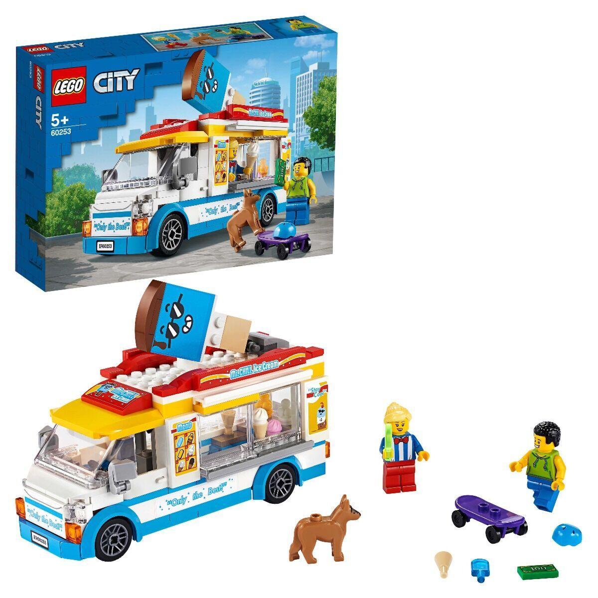 LEGO: Грузовик мороженщика CITY 60253