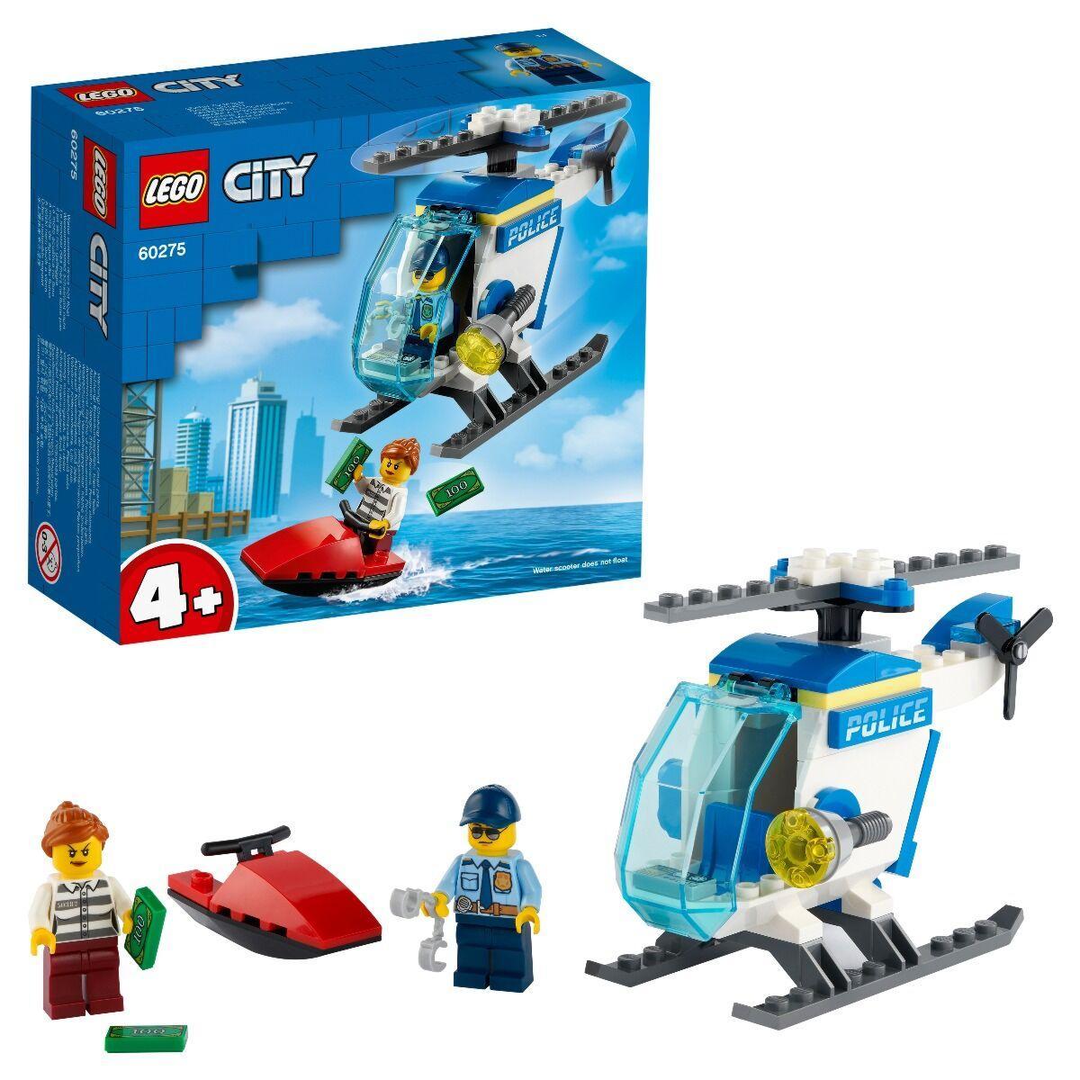 LEGO: Полицейский вертолёт CITY 60275
