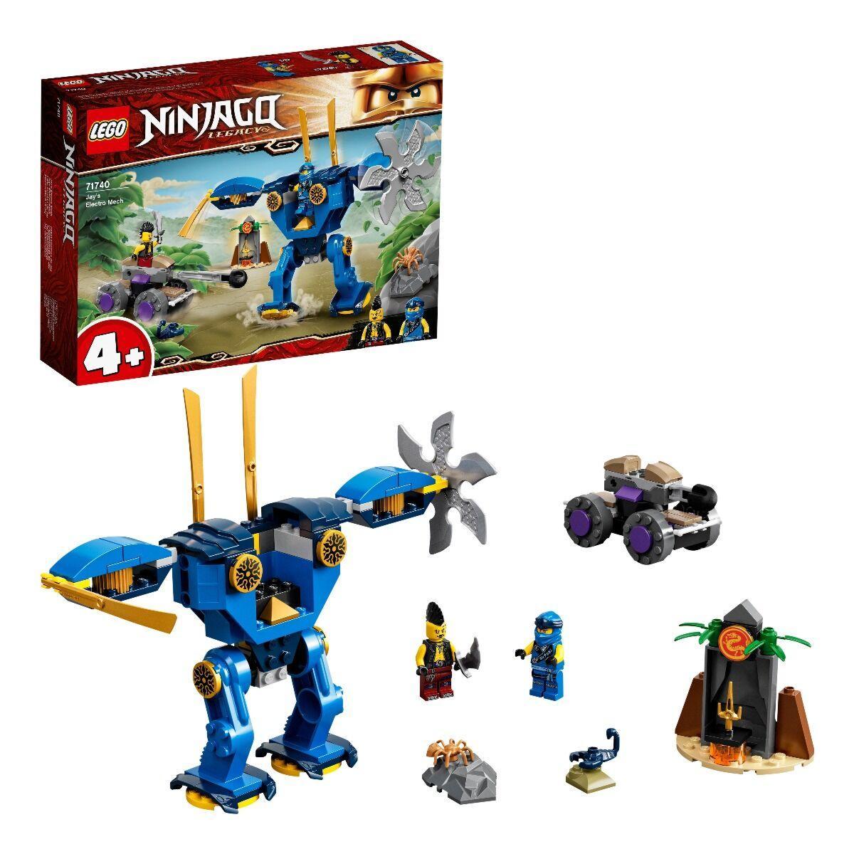 LEGO: Электрический робот Джея Ninjago 71740