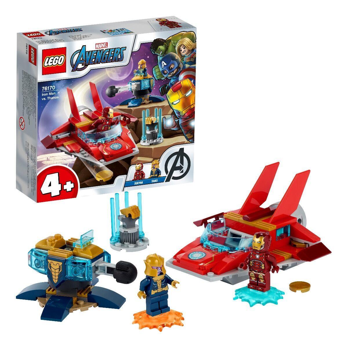 LEGO: Железный Человек против Таноса Super Heroes 76170