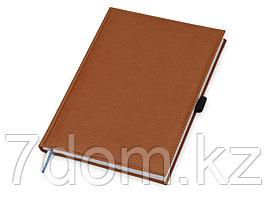 Блокнот А5+ Vicenza, коричневый