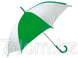 Зонт-трость Тилос, зеленый/белый