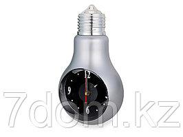 Часы Лампа