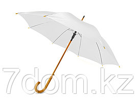 Зонт-трость Радуга, белый